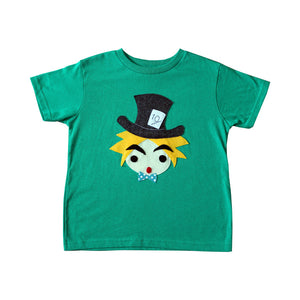 The Hatter - Alice's Adventure in Wonderland - Kids T-shirt
