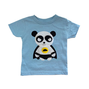 Kids Superhero Shirt - Team Super Animals - Flying Panda