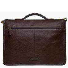 Load image into Gallery viewer, Hidesign Harrison Buffalo Leather Laptop Briefcase