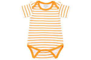 onesie in orange marseille stripe