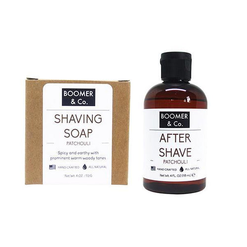 Patchouli Shaving Kit