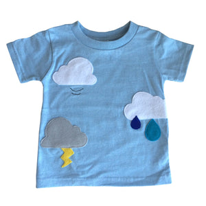 Clouds are Everywhere - Kids Shirt - The Funding Ninjas