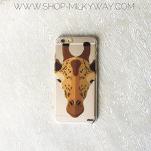 Load image into Gallery viewer, African Giraffe - Clear TPU Case Cover - The Funding Ninjas