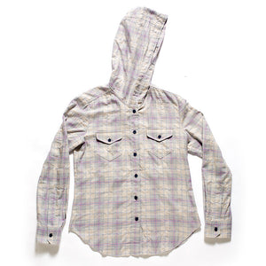 Hooded Button Down