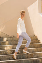 Load image into Gallery viewer, The leisure moment tapered pants in Pastel Blue