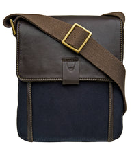 Load image into Gallery viewer, Hidesign Aiden Small Canvas Leather Cross Body