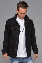 Load image into Gallery viewer, Seena Black Denim Jacket