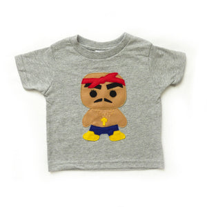 Kids T-shirt - Rad Rapper - Red Bandana