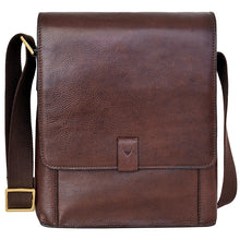 Load image into Gallery viewer, Hidesign Aiden Medium Leather Messenger Cross Body Bag