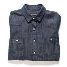 Load image into Gallery viewer, Bowery Denim Shirt - Women's - The Funding Ninjas