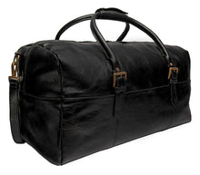 Load image into Gallery viewer, Hidesign Charles Leather Cabin Travel Duffle Weekend Bag