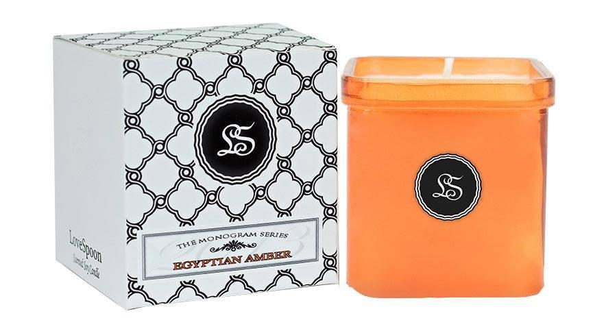 EGYPTIAN AMBER SOY CANDLE - The Funding Ninjas