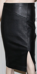 LEXI LEATHER PENCIL SKIRT