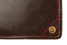 Load image into Gallery viewer, Hidesign Angle Stitch Leather Multi-Compartment Leather Wallet