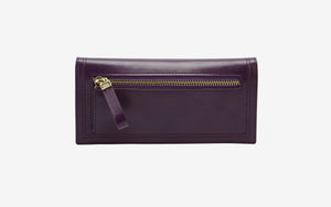 Kent Gusseted Clutch Wallet