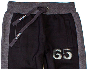 Men's Dress Sweat Pant In Black