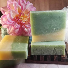 Load image into Gallery viewer, Cucumber and Melon Handmade Soap - The Funding Ninjas