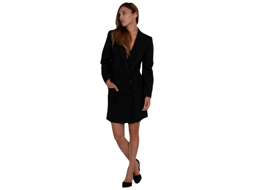 MULTI-WEAR LIZA LONG BLAZER / DRESS