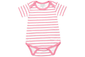onesie in pink marseille stripe