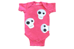 Baby Onesie - Skulls can be cute... - The Funding Ninjas