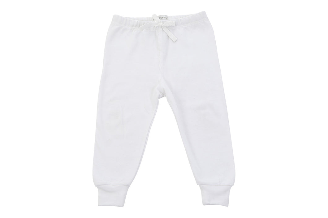 cozy pants in white - The Funding Ninjas