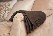 Load image into Gallery viewer, Taupe Baby Alpaca Throw
