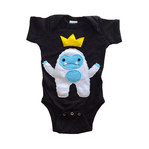 Baby Onesie -Yeti King - The Funding Ninjas