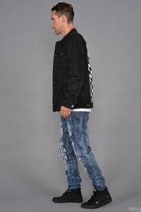 Seena Black Denim Jacket