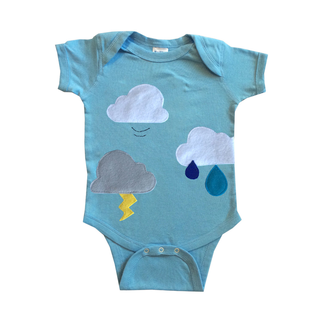 Clouds are Everywhere Onesie - The Funding Ninjas