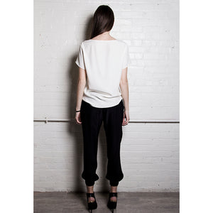 The Relaxed Silk Tee