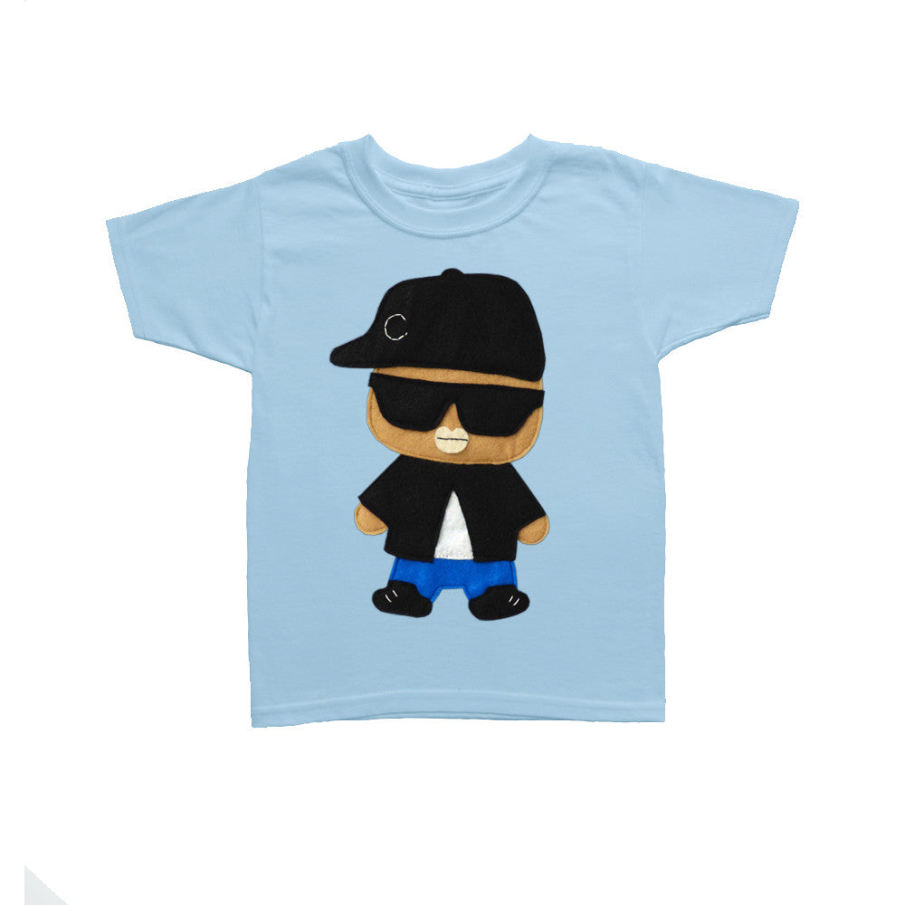 Kids T-shirt - Rad Rapper - Big Sunglasses