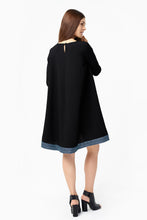 Load image into Gallery viewer, Stylish black flare dress