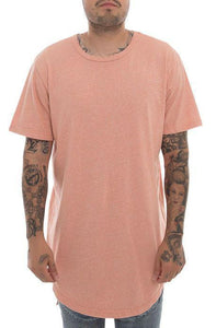 Packs Short Sleeve Hi-Lo Tall Tee (Pink)