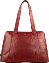 Load image into Gallery viewer, Cerys Leather Multi-Compartment Tote - The Funding Ninjas