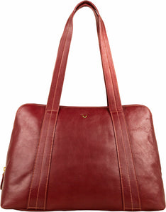 Cerys Leather Multi-Compartment Tote - The Funding Ninjas