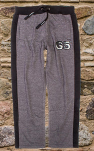 Men's Dress Sweat Pant In Charcoal