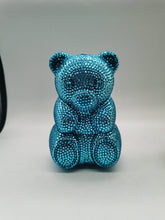 Load image into Gallery viewer, Boutique De FGG Novelty MINI Teddy Bear Animal Women Crystal Clutch Bags Party Cocktail Rhinestone Handbags Evening Clutch Purse