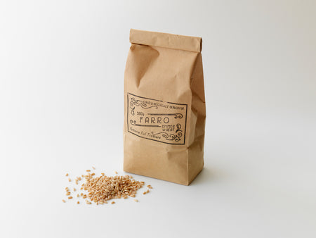 Farro. Organically Grown Emmer Wheat. 500g