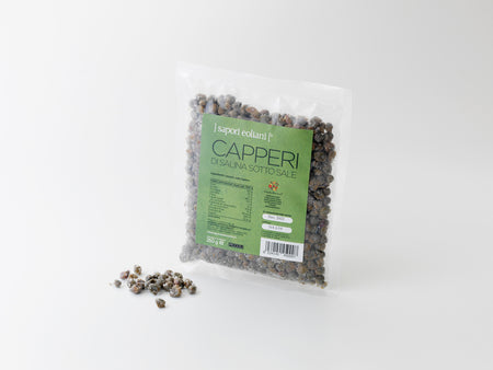 Small Salina Capers in Salt. 250g
