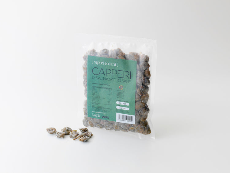 Large Salina Capers in Salt. 250g