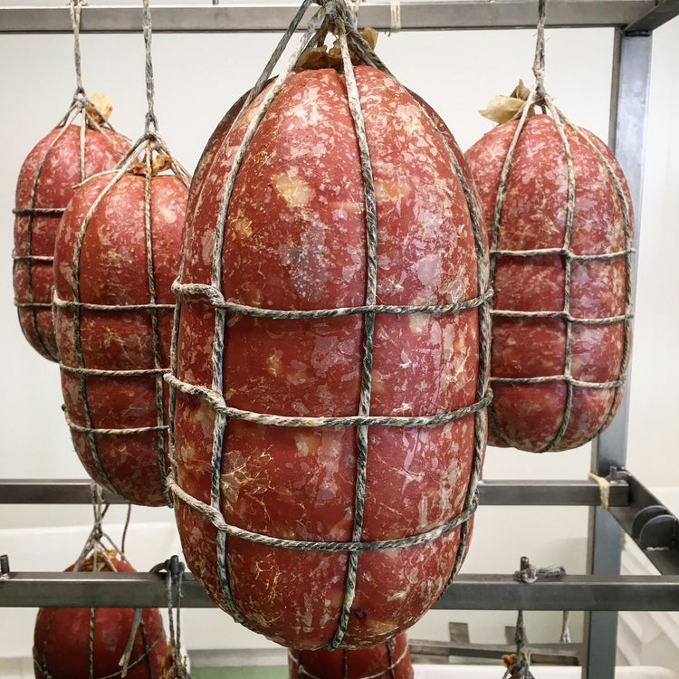 Mortadella. Minimum Weight 2.5kg