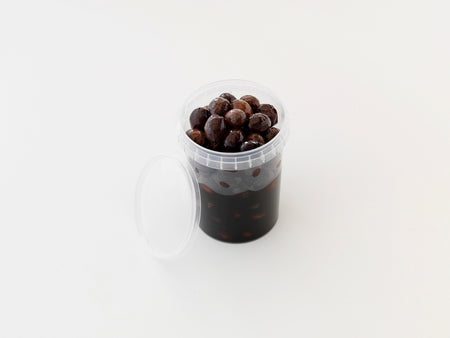 Unpasteurised, Brine-Cured Nyons Olives. Minimum Weight 320g