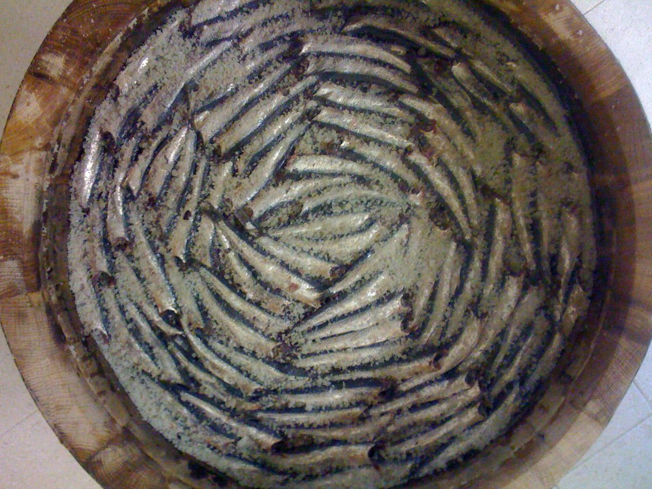 Anchovy Filets in Extra Virgin Olive Oil. Net Weight 100g