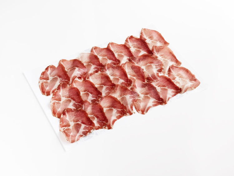 Sliced Coppa. Click and Collect Only