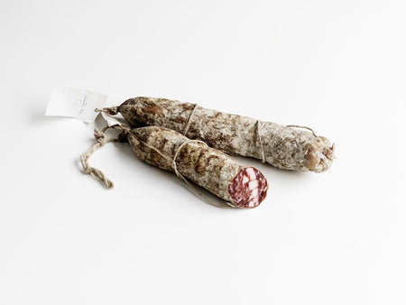 Salame Toscano. Minimum weight 420g
