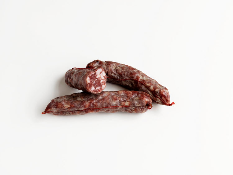 Salame al Barolo. Minimum weight 160g