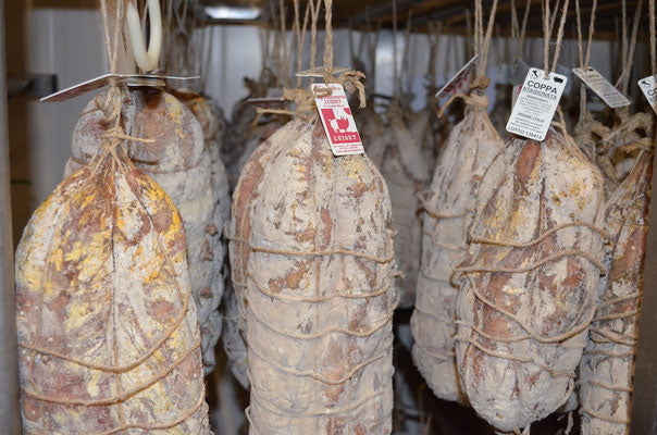 Salame Campagnolo. Minimum Weight 120g
