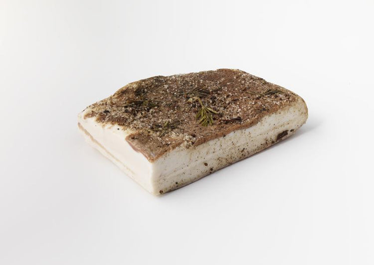 Sliced Lardo di Colonnata. Click and Collect Only