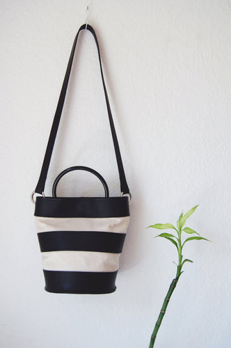 Stripes Bucket Bag