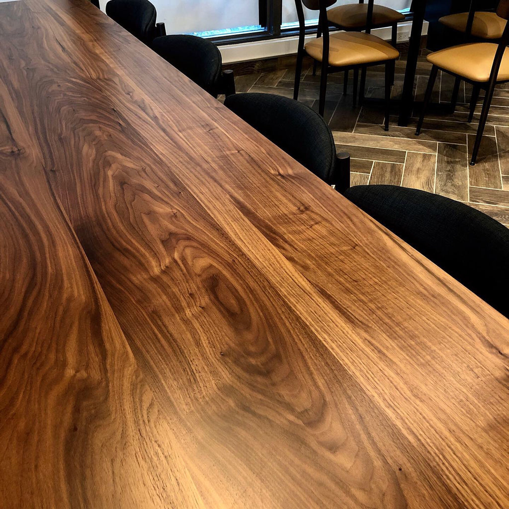 Black Walnut Communal Conference Table